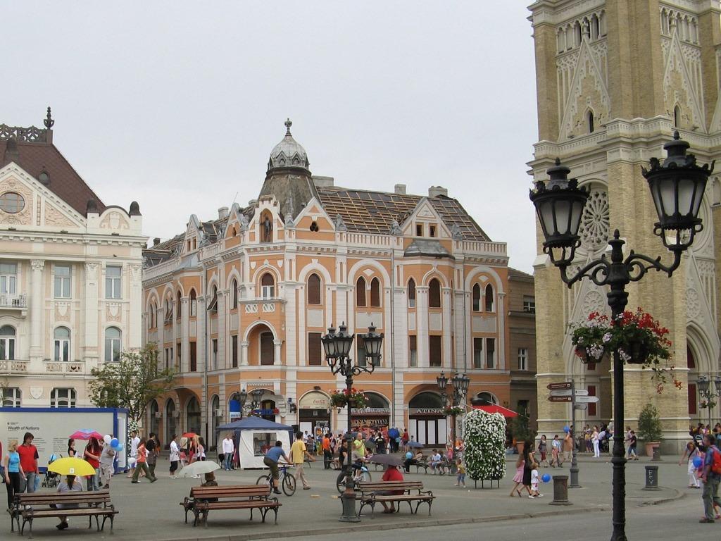Trg slobode, gradski trg Novi Sad