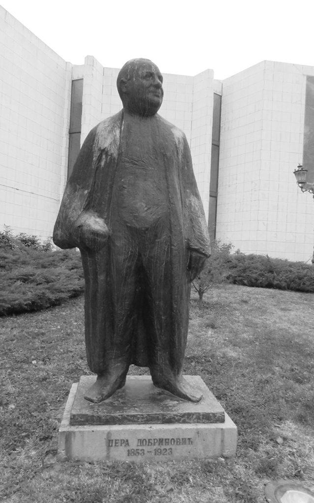 Srpsko narodno pozorište, spomenik